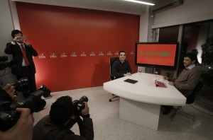Alexis Tsipras answers questions from the public through twitter