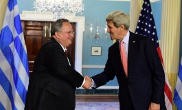 FM Kotzias Concludes His Visit to the U.S.