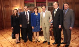 Prime Minister Tsipras Meets with AHEPA Delegation