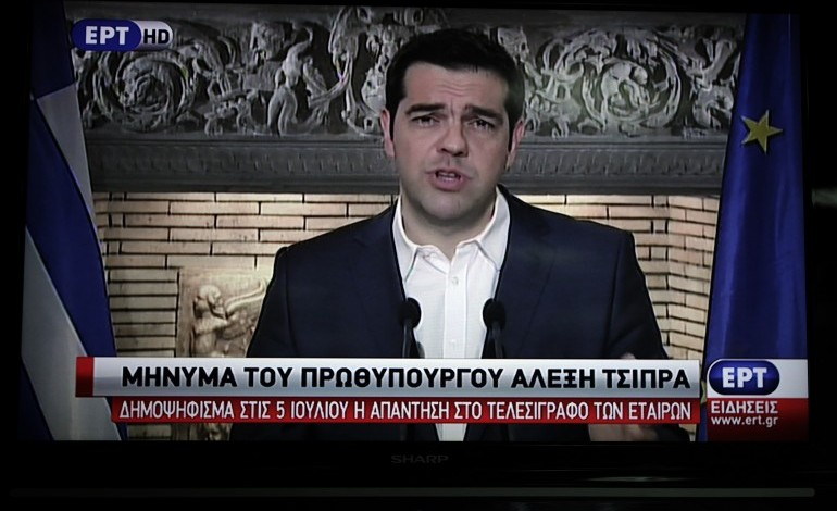 PM Alexis Tsipras: 'The government is facing threats calmly'