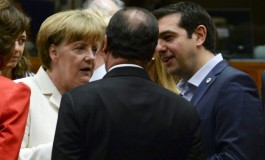 Greek leader Alexis Tsipras accepts harsh bailout plan that will keep the near-bankrupt nation in the euro zone