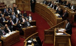 Greece's coalition government wins confidence vote with 155 votes