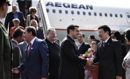 High hopes for PM Alexis Tsipras' visit to China