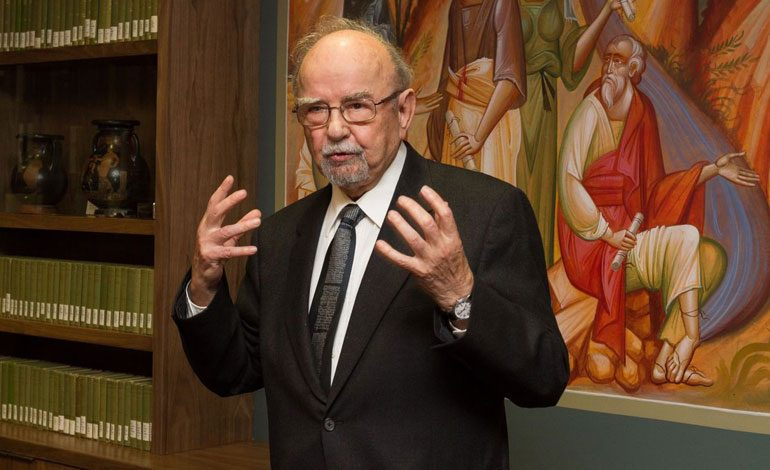 Rev. Dr. Demetrios Condtantelos, Passed Away