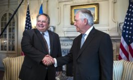 Kotzias-Tillerson discuss Greece's role in the security and the stability of the region,