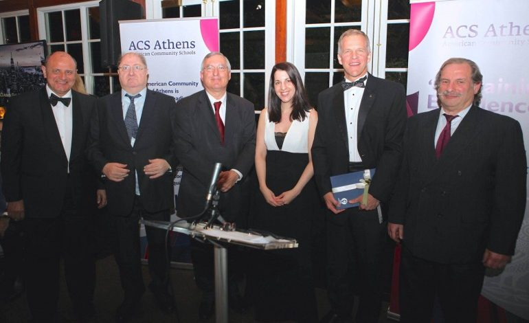 Excellence, Pride and a Glow of Fellowship at ACS Athens Alumni Award Dinner