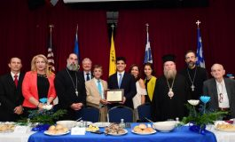 Outgoing Consul of Greece Manos Koumbarakis Honored