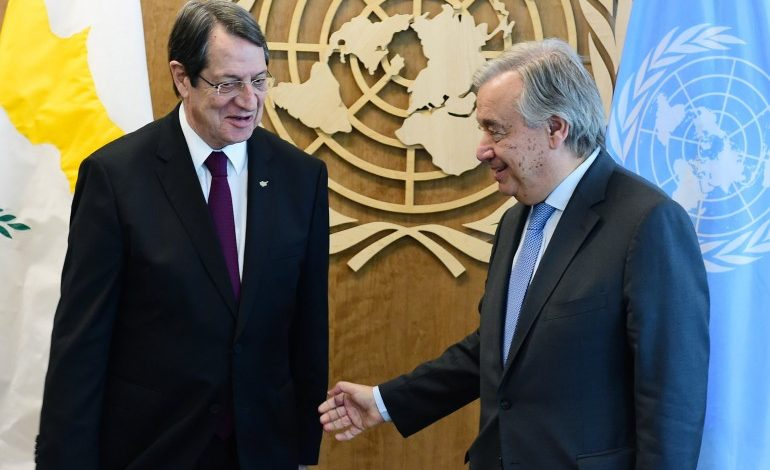 A historic opportunity was missed in Crans Montana, UNSG Antonio Guterres says in his good offices report on Cyprus