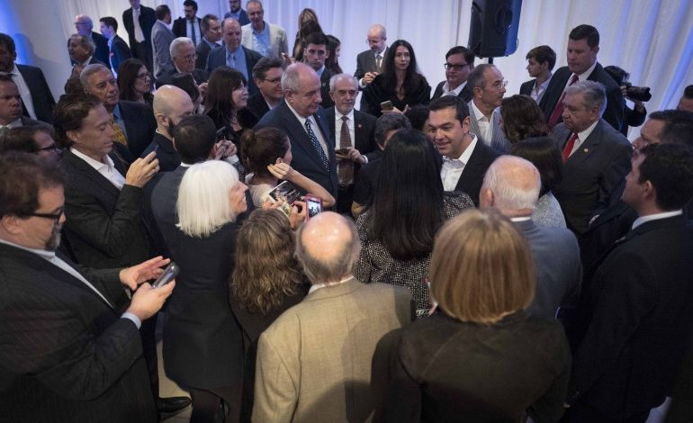 Greek Prime Minister toured the National Hellenic Museum during U.S. stay