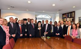 Archbishop Demetrios Officiates AHIF's John &  Cleo Rumpakis Library Rededication Ceremony