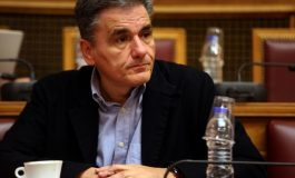 Ministers Tsakalotos, Papadimitriou  and Kountoura  at the 19th  Annual Capital Link Invest in Greece Forum