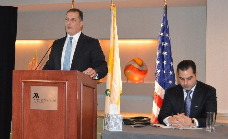 Ministers of Energy and Health promote  Cyprus business  Opportunities  in New York