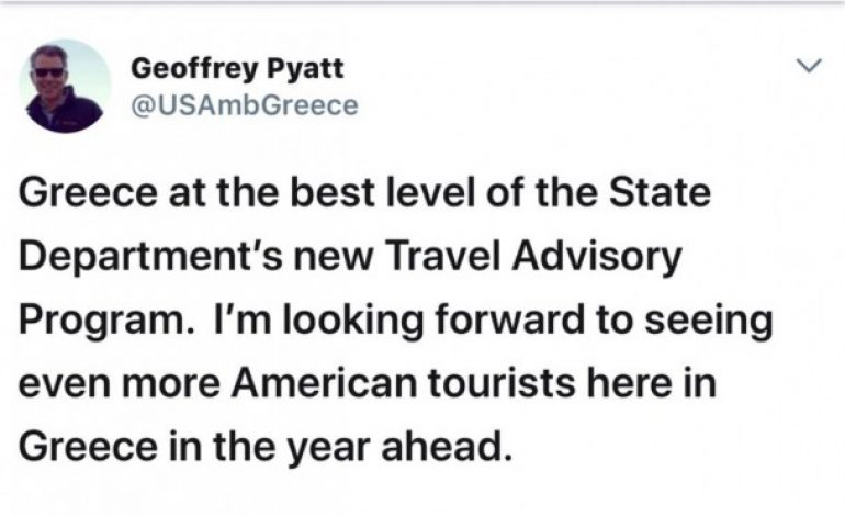 State Department: Greece and Cyprus safe  countries to travel; avoid going to Turkey