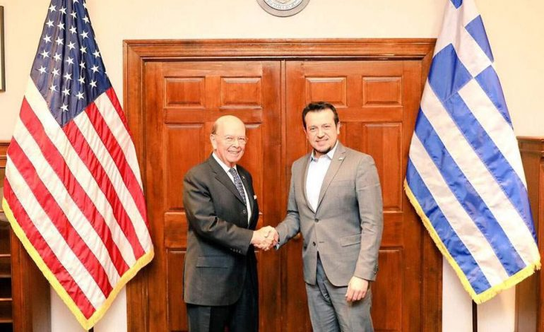 Minister Nikos Pappas accompanied by U.S. official concludes important tour in the United States