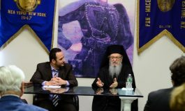 Archbishop Demetrios will attend and address the demonstration on Macedonia at the United Nations