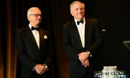 Leadership 100 installed Argyris (RJ) Vassiliou as Chairman at 27th Annual Conference