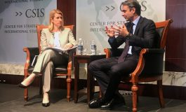 "Mitsotakis presents  Greece as a ""banana  republic"" speaking  at a Washington  think tank"