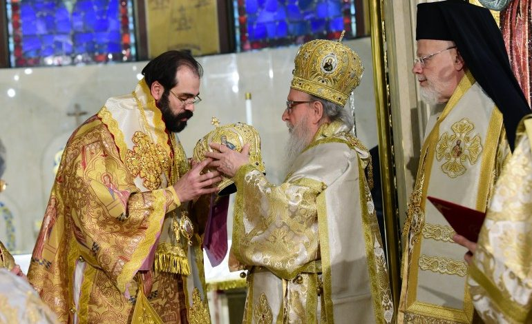 Metropolitan – elect of Chicago Nathanael was ordained Bishop
