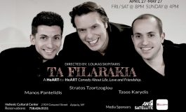 """Ta Filarakia"": A Heart to Heart comedy about Life, Love and male friendship, at the Greek Cultural Center's Theatre"