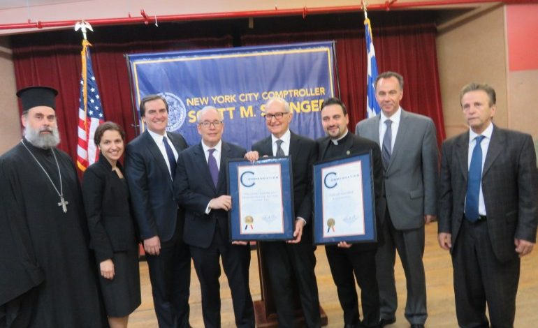 Astoria Supports  Enthusiastically  NYC Comptroller  Scott M. Stringer