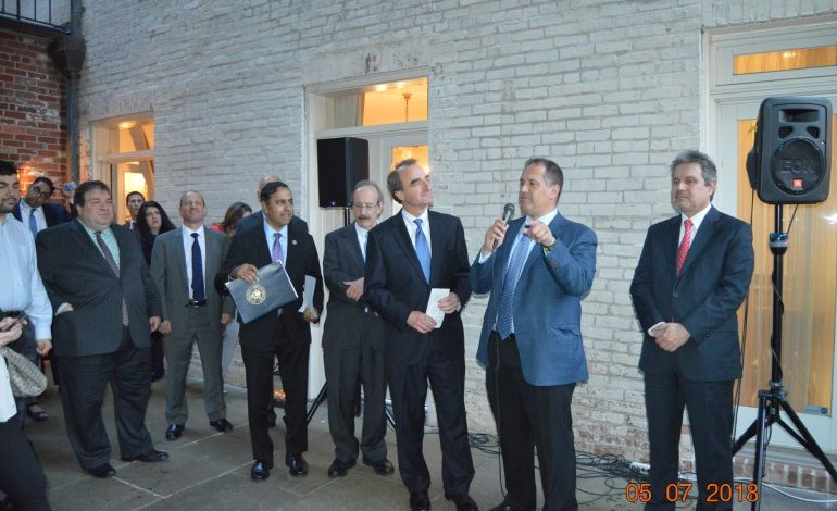 HALC and AJC celebrate the 5th Anniversary of the Congressional Hellenic Israeli Alliance