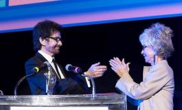 Academy Award Winner George Chakiris receives Honorary Orpheus Award at the 12th Annual Los Angeles Greek Film Festival.