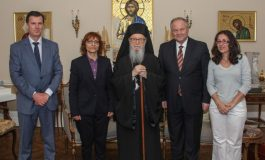 Leadership of Greek Police Visits Archbishop Demetrios
