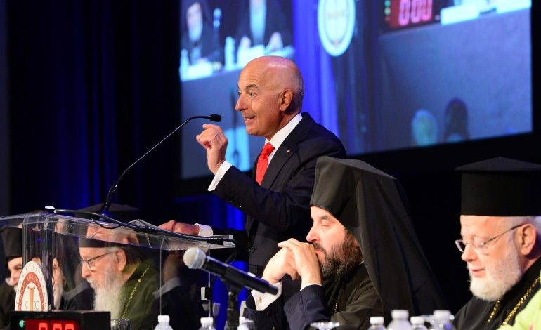 Plenary at the 44th Clergy Laity Congress approves a budget with $1 ml deficit – Priests has chosen their benefits over Archdiocese's financial recovery and stability – Michael Psaros announced his resignation