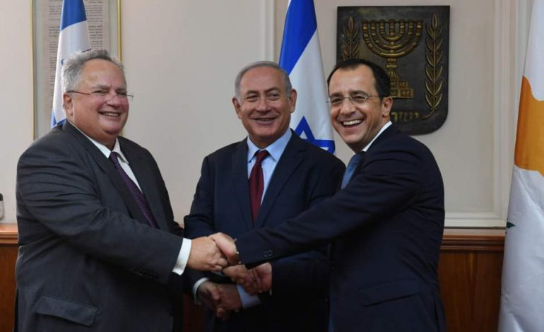 Greece – Cyprus discuss developments  in Mediterranean with Israel and Egypt