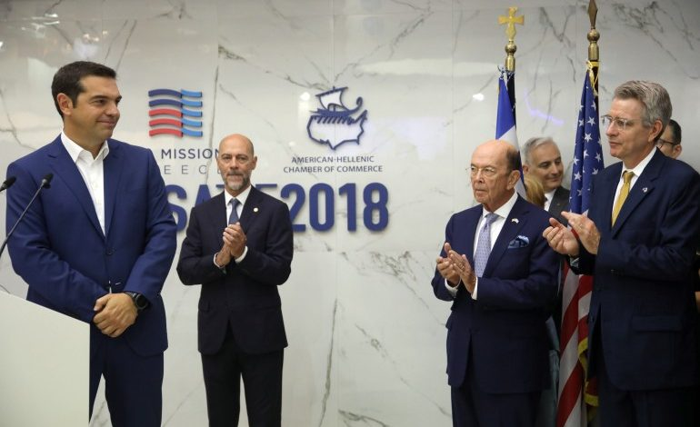 Wilbur Ross: 83rd TIF a launching point for  further strengthening Greece – US ties