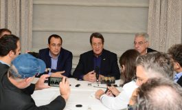President Anastasiades underlines  determination for resumption of talks