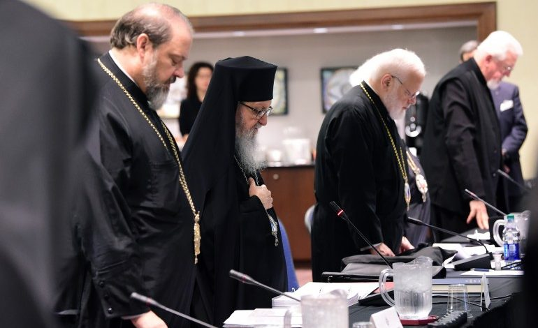 Russian Hierarchs withdrew from the Assembly Canonical Orthodox Bishops of the United States of America