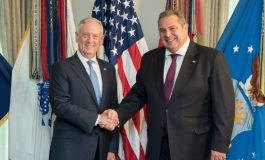 Mattis and Kammenos reaffirmed US-Greece long standing defense relationship