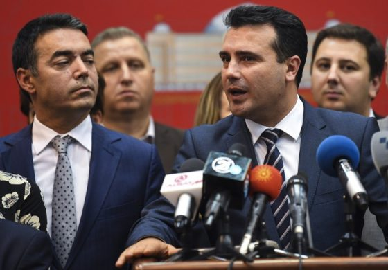 Parliament in Skopje gives a Green Light to start the process of the constitutional change
