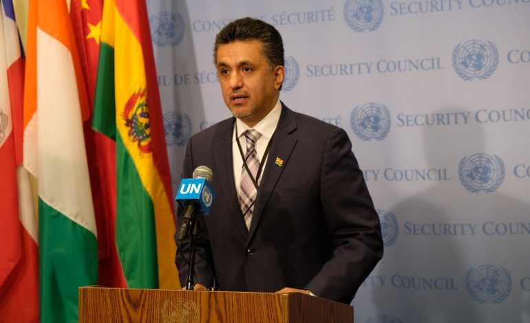 Security Council members welcome SG's report and await further update on Lute's contacts
