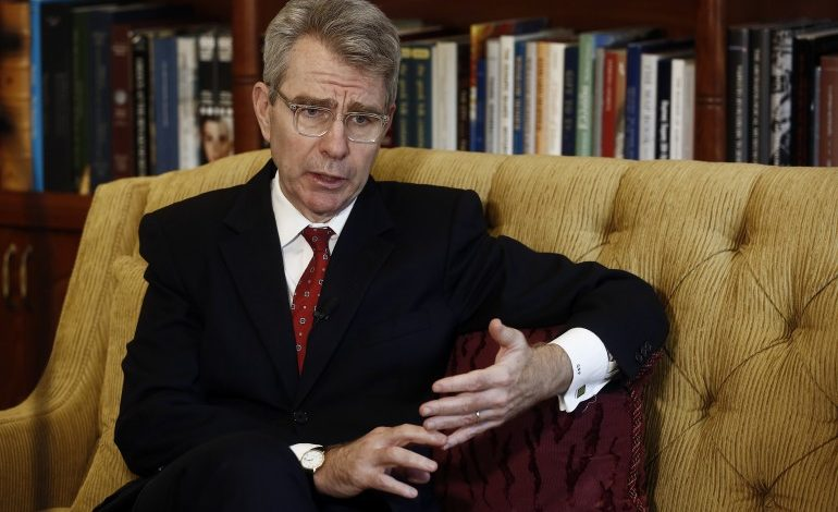 An interview with US Ambassador Geoffrey Pyatt: Put a positive spotlight on the opportunities that Greece represents