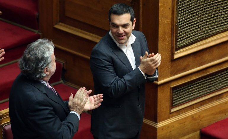 World Leaders Praise Tsipras for Prespes Agreement Ratification