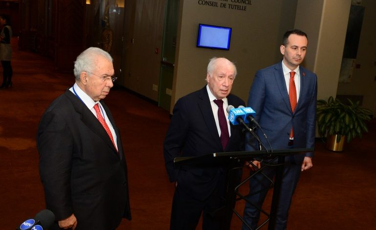 """Nimetz clarifies, """"macedonian language' is included in UN official forms"""