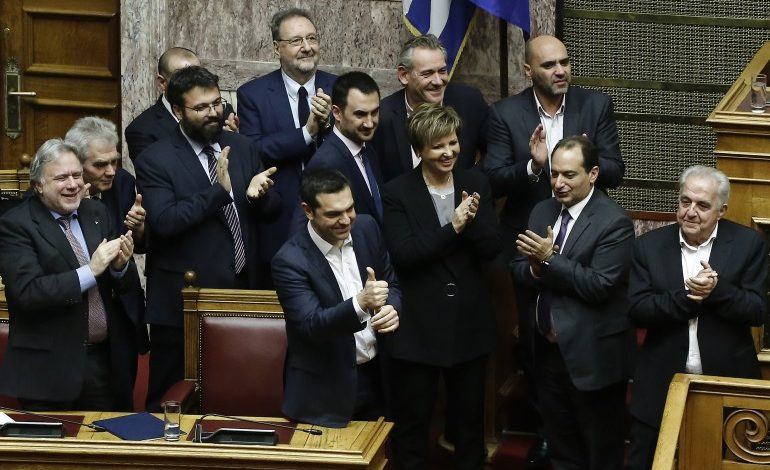 Greek Prime Minister Alexis Tsipras wins confidence vote with support of 151 deputies