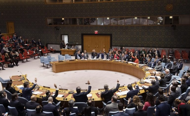 United States issues a strong warning in the Security Council tying UNFICYP mandate to progress in the negotiations