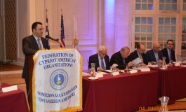 The Federation of Cypriot American Organizations  to host 2019 annual National Convention on April 13