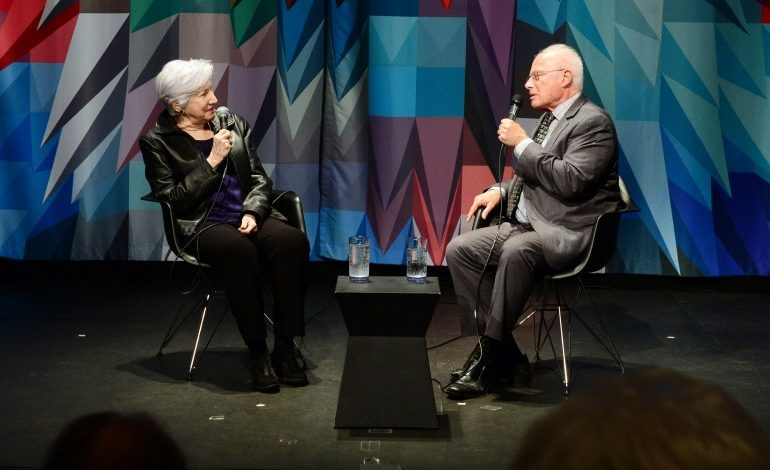 Olympia Dukakis interviewed at the  screening of the documentary OLYMPIA, by the Hellenic Film Society