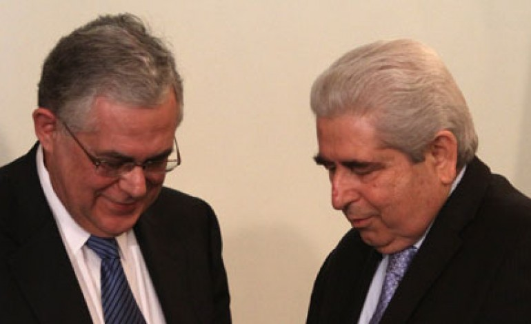 Christofias – Papademos Coordinate Efforts on Cyprus Issue and Energy