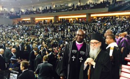 Archbishop Demetrios Attends Funeral of South Carolina Slain Pastor
