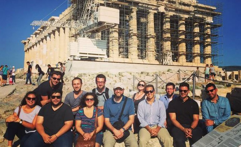 Hellenic College Holy Cross Students Travel Abroad on St. Helen's Pilgrimage