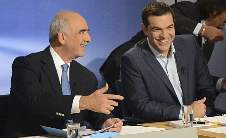 Polls Show SYRIZA – ND in a Tie and in Search of Coalition Partners