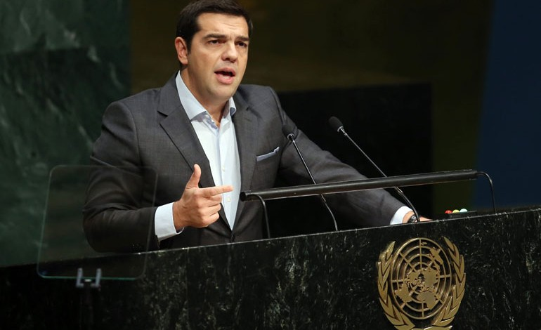 Tsipras Comes to NY to Promote Greece's International Relations, and Debt Relief Efforts