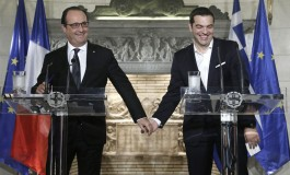 "Hollande to Tsipras: ""I've Got Your Back"""