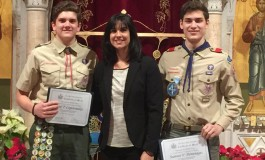 A New Eagle Scout Sets a Goal to Help the Homeless