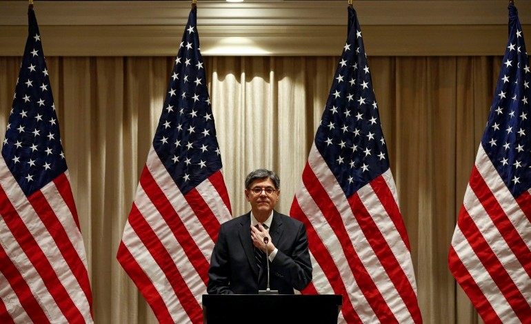 Secretary Lew calls on Greece to proceed with reforms and its lenders for debt relief